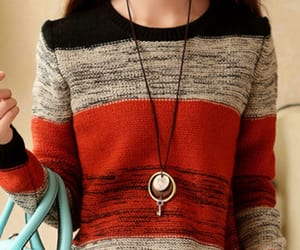 elegance, knitwear, and women's clothing image