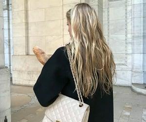 hair, bag, and fashion image