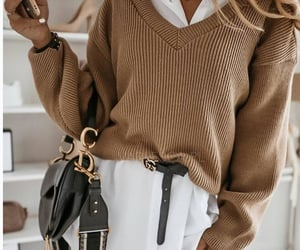 bag, beige, and casual image