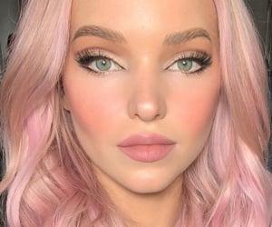 eyelashes, eyeliner, and girl image