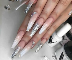 beauty, nails, and glam image