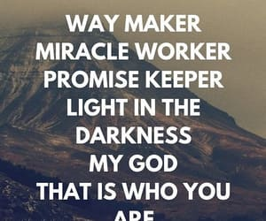 god, promise keeper, and jesus image