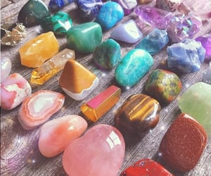 aesthetic, crystals, and magic image