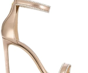 crystal, Jimmy Choo, and gold image