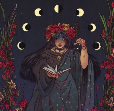 article, witch, and witchcraft image