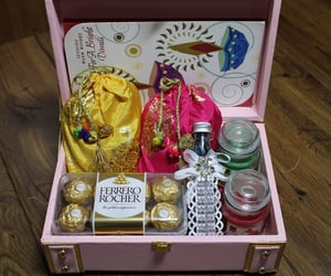 festive gifts, gifts in box, and new gifting ideas image
