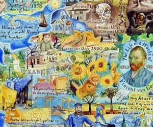 aesthetic, blue, and vincent van gogh image