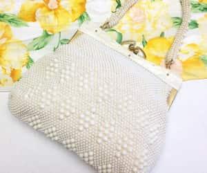 etsy, white handbag, and white purse image