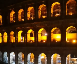 colosseum, roma, and italy image