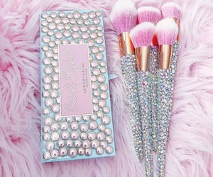 bling, Brushes, and makeup image