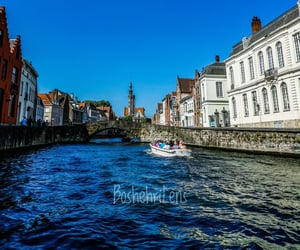 belgium, boat, and Ghent image