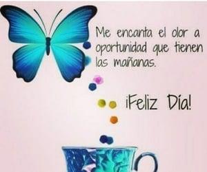 feliz, buenos días, and frases español image