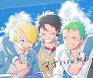 аниме, санджи, and Ван пис image