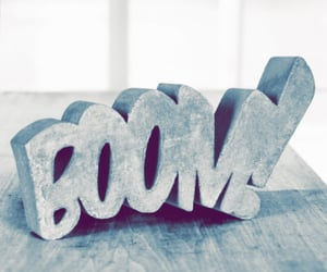 boom and words image