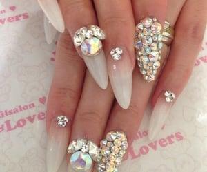 nails, nails art, and decor nails image