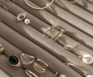 beige, jewelry, and ring image