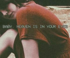 baby, heaven, and eyes image