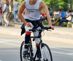30 seconds to mars, bike, and jared leto image