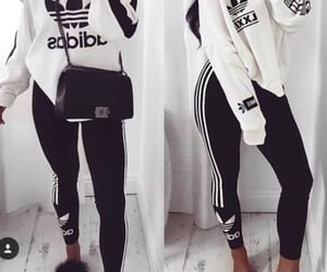 adidas, bags, and fashion image