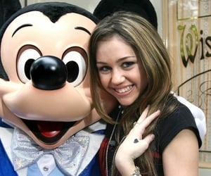 disney, hannah montana, and mickey mouse image