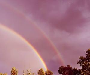beautiful, photography, and rainbow image