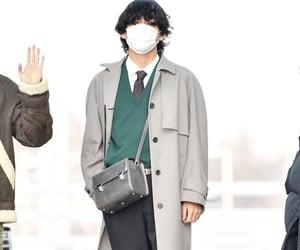 boy, taehyung, and fashion image