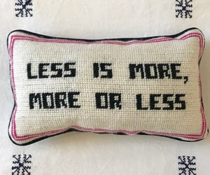 sayings, embroidery, and less image