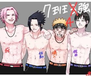 naruto, team 7, and sasuke uchiha image