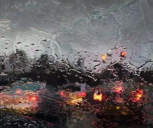 rain, car, and aesthetic image