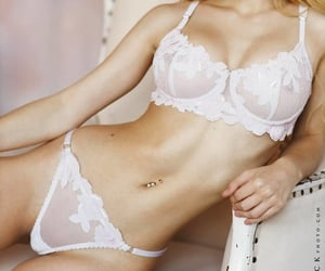 bra, panties, and lingerie image