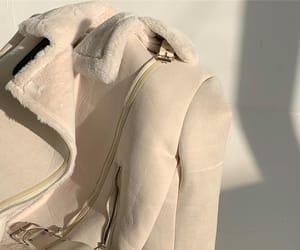 aesthetic, beige, and jacket image