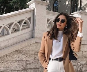 autunm, fashion, and coat image
