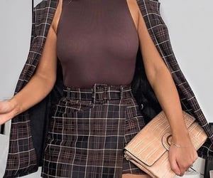 brown, purse, and stylish image