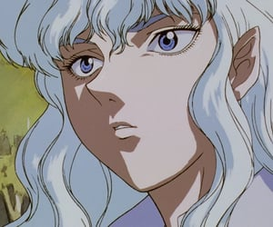 90s, griffith, and retro anime image