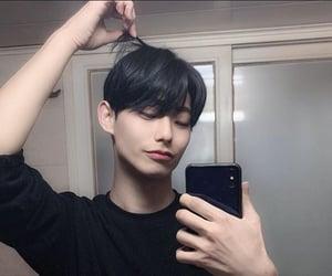 asian boy, korean, and men image