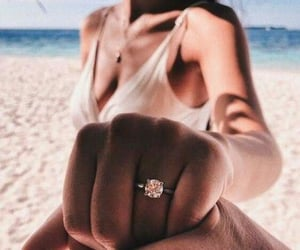 love, proposal, and fiance image