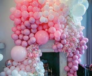 birthday, decorations, and livingroom image