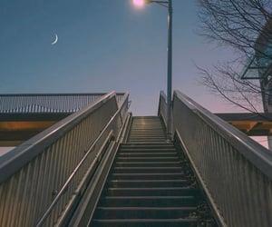 light, moon, and seoul image