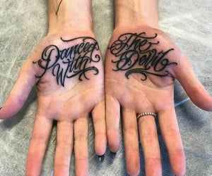ink, inked, and tatto image