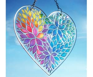 colourful, love, and heart image