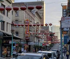 chinatown, city, and decor image