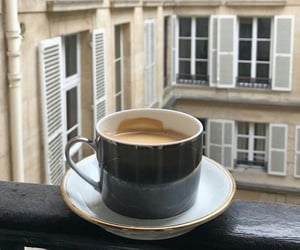 coffee, drink, and paris image