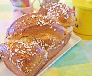 breakfast, brioche, and recipe image