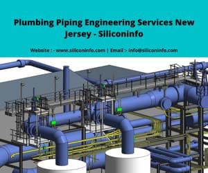 piping plumbing drawings, piping design services, and plumbing piping modeling image