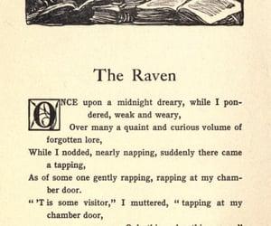 book, edgar allan poe, and the raven image