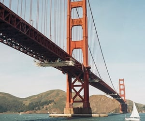 city, golden gate bridge, and san francisco image
