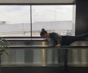 airport, dancing, and photo image