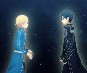anime, cute, and gif image