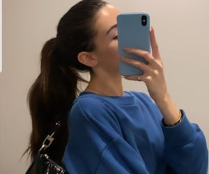 hair style and madison beer image