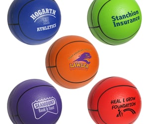basketball stress ball image